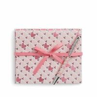 Vera Bradley Notecards With Pen In Blush Hearts