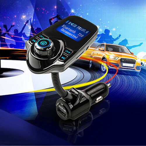 Car Kit Wireless Digital FM Transmitter MP3 Player USB LCD Modulator Adjustable