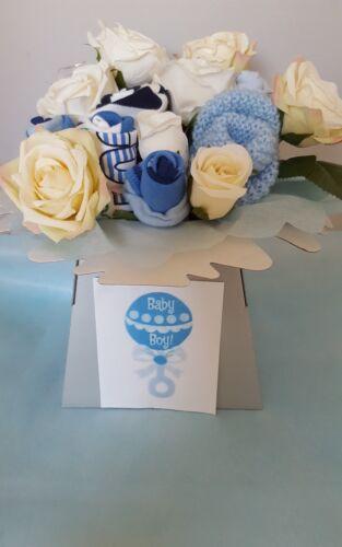 Baby girl deluxe Bouquet of Baby socks beautifull Baby Shower Gift