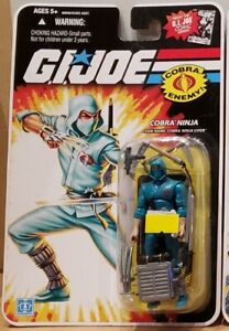 "G.I. Joe 25th Anniversary: Cobra Ninja Viper 3.75"" (Comic Series) Figure"