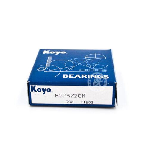 KOYO 6009 ZZ Deep Groove Ball Bearings 45 x 75 x 16mm.