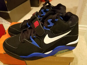 finest selection e1036 86a41 Image is loading Nike-Air-Force-180-Black-Barkley-Dream-Team-