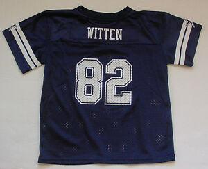 72fd77d45 NWT Jason WITTEN 82 Dallas Cowboys NFL Jersey MESH Toddler Navy Blue ...