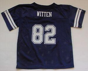 4b1fbd08c NWT Jason WITTEN 82 Dallas Cowboys NFL Jersey MESH Toddler Navy Blue ...
