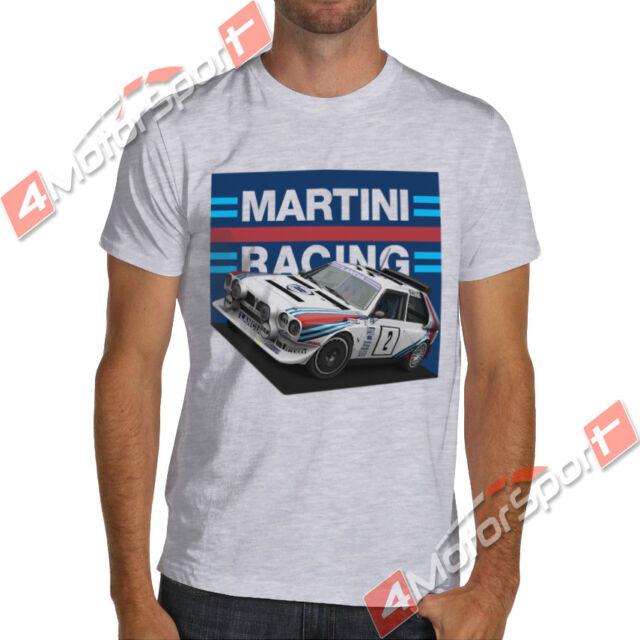 Lancia Delta S4 Rally T shirt Group B WRC 6 times winner Boy racer mens Top