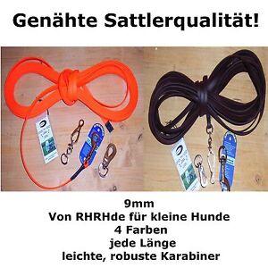 9mm-BioThane-Schleppleine-GENAHT-NICHT-NUR-GENIETET-Wunschlaenge-Suchleine-Leine