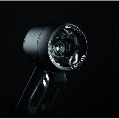 Supernova E3 Triple Headlights in Black 800 Lumens