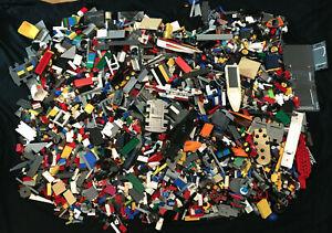 LEGO ENORME Lavoro Lotto Misto Bundle-Eccellente varietà di oltre 15kg+ - SPEDIZIONE GRATUITA