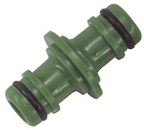 """TUBO da giardino tubo Maschio Adattatore per tubo flessibile 1//2/"""" ACQUA STOP Joiner connettore riparazione perdite"""
