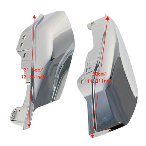 Chrome Mid-Frame ABS Air Deflector Heat Shield For Harley Touring 2017-2019 #C