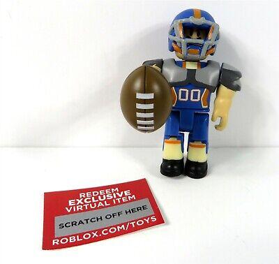 Roblox High School Forest Roblox Blind Box Series 4 Roblox High School Quarterback Unused Code Figure New Ebay
