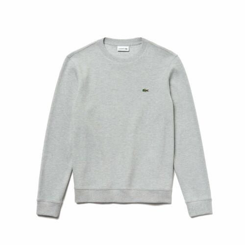 Lacoste Cotton Piqué Sweatshirt SH8811Grey Chine