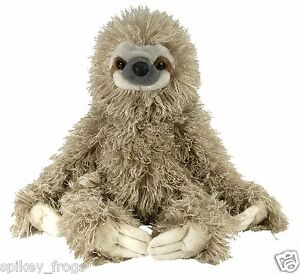 *NEW* WILD REPUBLIC - THREE TOED SLOTH BEAR SOFT PLUSH TOY 40CM