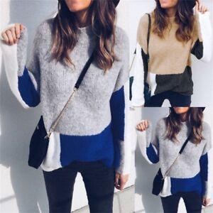 Women-Long-Sleeve-Knit-Sweater-Winter-Warm-Lounge-Knitwear-Pullover-Jumper-Tops
