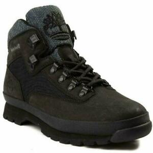 Men's Timberland Euro Hiker Rip Leather Boots, TB0A1UB2 001  Black