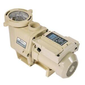 Pentair-3-HP-011018-Intelliflo-Swimming-Pool-Pump-VS3050-w-Timer
