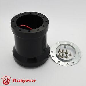 Steering-Wheel-Adapter-Kit-for-MOMO-NRG-SPARCO-fit-PORSCHE-911-Carrera-930-Black