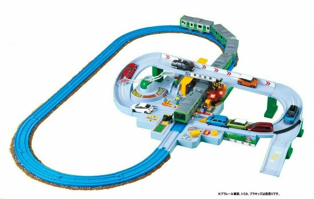 Takara TOMY Plastic Kids Rail Set to Connect With Plarail Station Japan for sale online