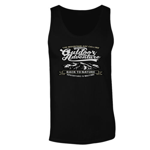 The mountain are calling I must go Men/'s T-Shirt//Tank Top hh222m