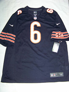 Nike Men's Chicago Bears #6 Jay Cutler Jersey NWT | eBay