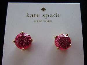 Image Is Loading Kate Spade Pink Sparkle Glitter Earrings J Crew