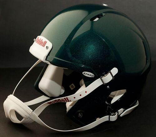 Color: METALLIC EAGLES GREEN Riddell Revolution SPEED Classic Football Helmet