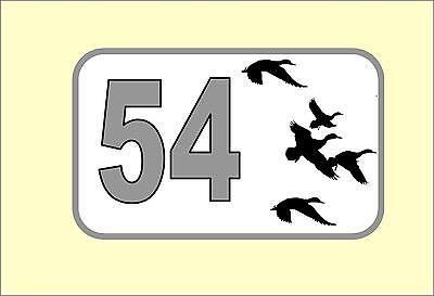 Beware Of The Ducks Metal Sign//Fridge Magnet Wall Sign 1241