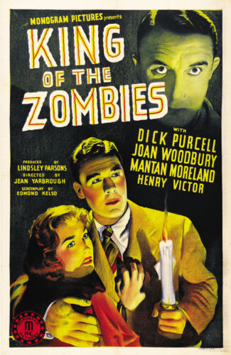 King of the Zombies Cult Horror movie poster print 1941