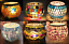 thumbnail 1 - Decorative Colorful Glass Votive Tealight Candle Holder For Wedding Party Decor