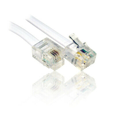 Wire for use with BT Broadband Router Modem Home Hub UK Lead ADSL RJ11 Cable