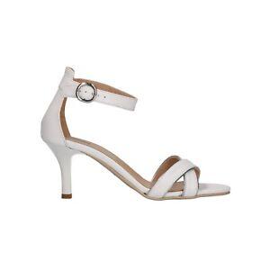 NERO GIARDINI Sandali scarpe donna bianco 6001 elegante mod P806001DE