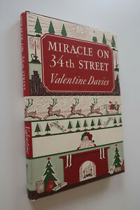 Miracle on 34th Street ~Facsimile of First Edition, Valentine Davies