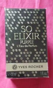 Yves-Rocher-Eau-de-Parfum-femme-SO-ELIXIR-PURPLE-vapo-30ml-neuf-sous-blister