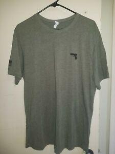 Glock-Perfection-mens-Green-Olive-shirt-logo-graphic-t-shirt-Gun-Flag-g17-XL