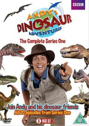 Andy Day, Kate Copeland-Andy's Dinosaur Adventures: Complete Series 1 DVD NEW
