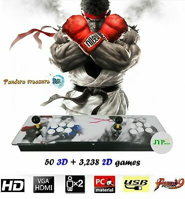 NEWEST! Pandora's Box 9H 3,288 Games 3D + 2D Games in 1 Joystick ...