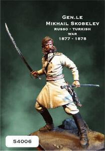 BLUES-MINIATURES-54006-Gen-Michail-Skobelev-1877-1878-scala-54-mm
