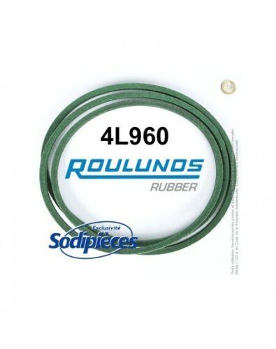 Courroie tondeuse 4L960 Roulunds Continental 12,7 x 7,2 x 2438 mm