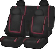 Airbag Compatible and Split Bench Orange FH Group FB036ORANGE115 Seat Cover