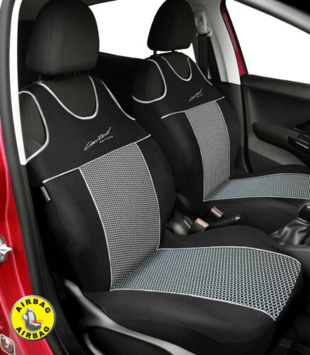 Front seat covers fit Citroen DS3 VEST SHAPE P2 VERLOUR