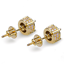 Men-Square-Round-Solitaire-Hip-Hop-Gold-Diamond-Screw-Back-Stud-Earrings-8-6-4mm thumbnail 26