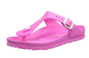 Details about Birkenstock GIZEH EVA Neon PINK flip flop normal sandal thong US 7 EU 38