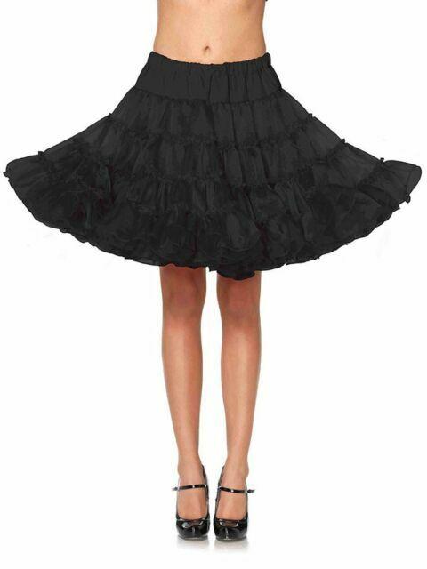 Leg Avenue White Lace Teardrop Petticoat Skirt NEW Crinoline Womens One Size