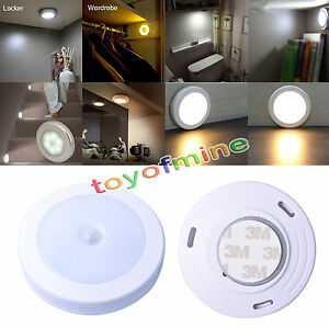 lampe-a-6-LED-Light-PIR-Wireless-Auto-Sensor-Detecteur-Lamp-Wall-Cabinet-Night