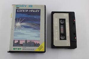 Msx-Halley-039-s-Comet-Complete-spanish-version-case