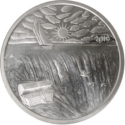 1 oz .999 Fine Silver Ends of the Earth Silverbug Island Silver Round IN STOCK!