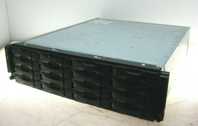 Dell EqualLogic PS4000 Array w/ EqualLogic Control Module 8 E003M003 16x 1TB HDD