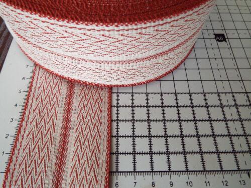Webbing,Blanket Binding,Ribbon 65mm-Diagonal Pattern Woven Trim,Tape 2m