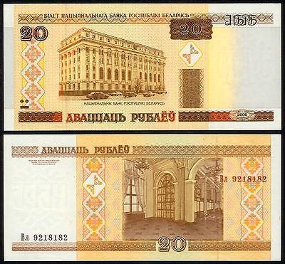 Belarus 20 Rubles 2000 UNC P-24