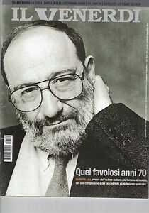 2002 01 04 - Il Venerdi Di Repubblica - 04-01-2002 - N.720 - Umberto Eco
